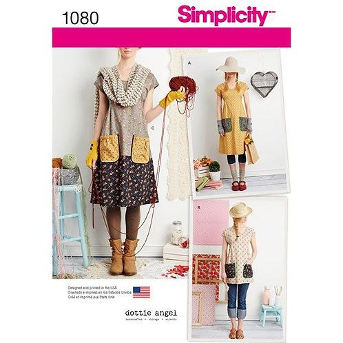 Simplicity 1080 Kleid & Tunika