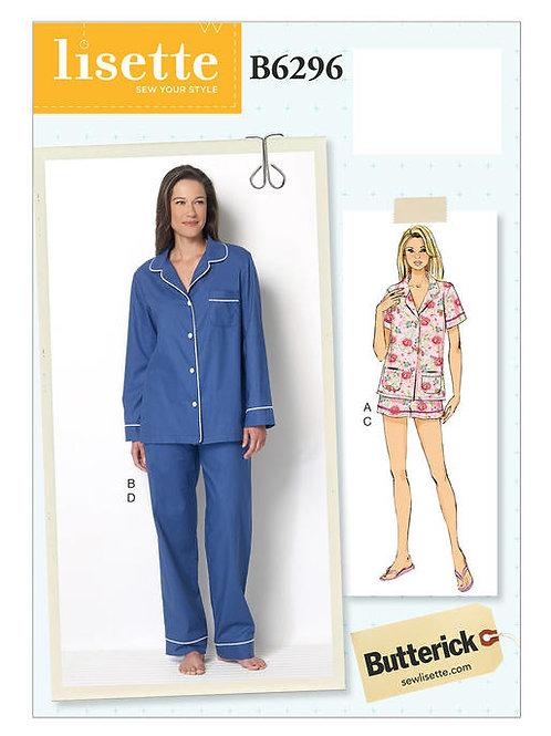 Butterick B6296 Pyjama by Lisette