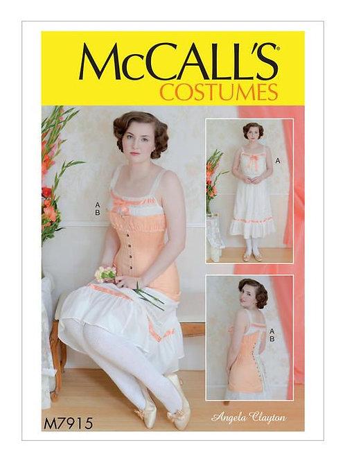 McCall`s M7915 Historische Unterwäsche