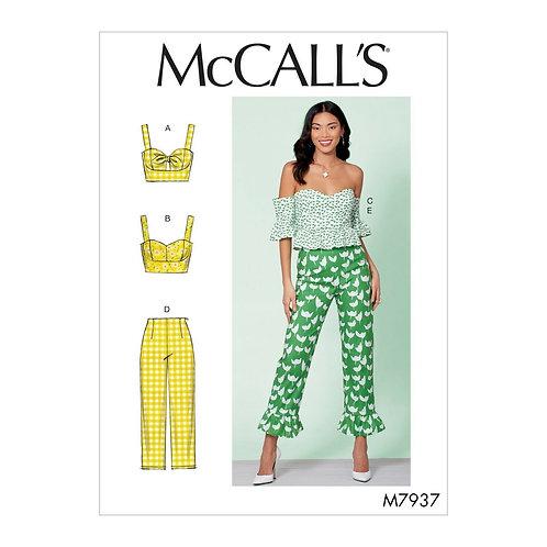 McCall`s M7937 Hose und Top
