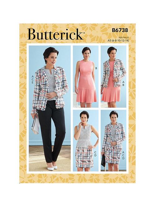 Butterick B6738 Kombination