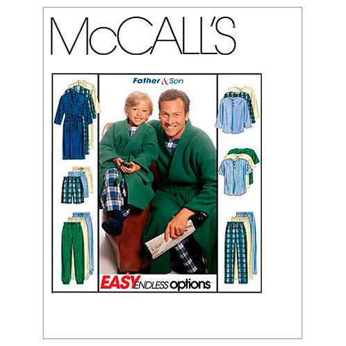 McCall`s M6236 Schlafkombi für Vater und Sohn