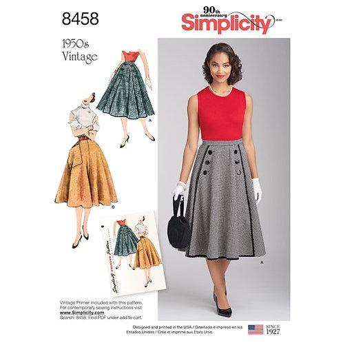 Simplicity 8458 Vintage - Rock