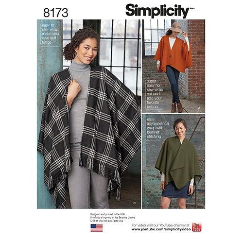 Simplicity 8173 Poncho