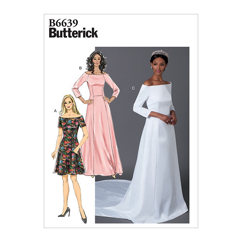 Butterick B6639 Brautkleid / Abendkleid