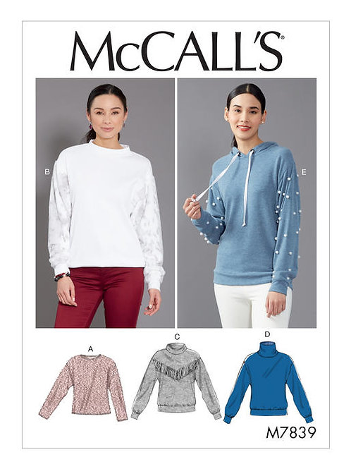McCall's 7839 taillierter Pullover