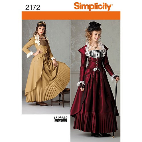 Simplicity 2172 Steampunk - Kostüm