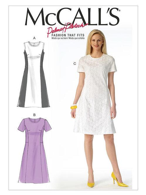 McCall's 7169 tailliertes Kleid