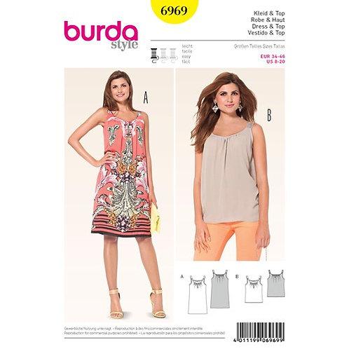 Burda 6969 Trägerkleid & Top