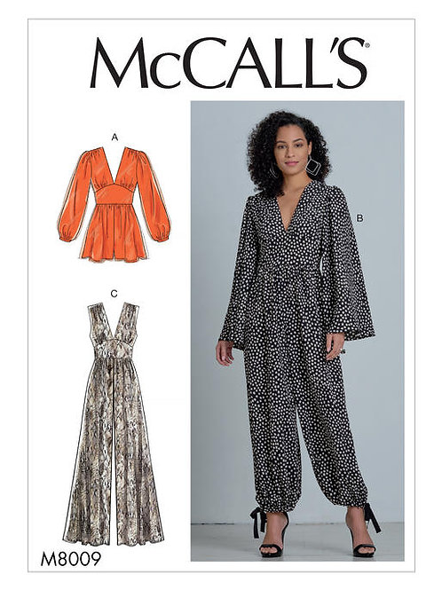 McCall's 8009 Overall & Bluse