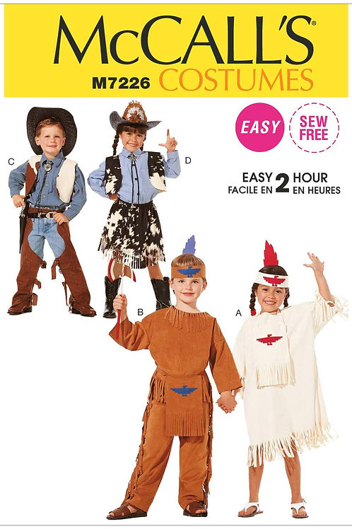 McCall`s M7226 Kinder-Fasching