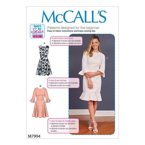 McCall`s M7994 Kleid