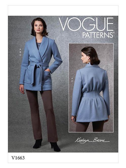 Vogue V1663 Jacke, Shirt & Hose by Kathryn Brenne