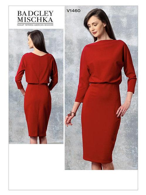 Vogue V1460 Jerseykleid by Badgley Mischka