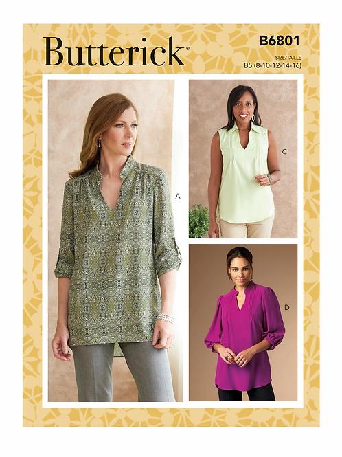 Butterick B6801 Bluse