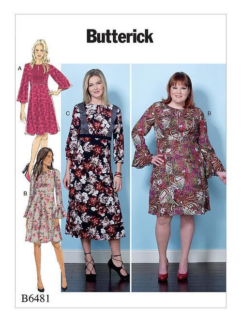 Butterick B6481 Kleid