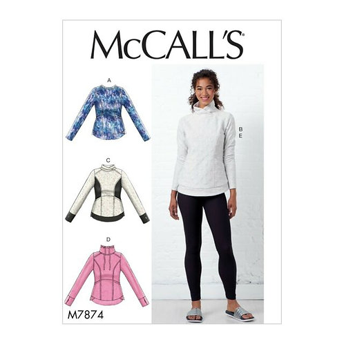 McCall`s M7874 Shirt und Leggings