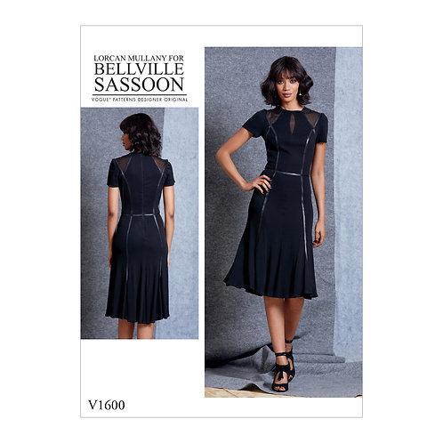 Vogue V1600 Jerseykleid by Bellville Sassoon