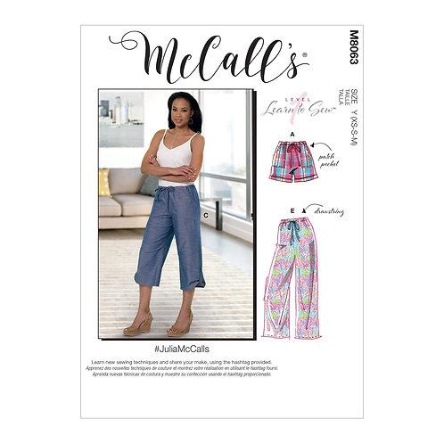 McCall`s M8063 Hose mit Gummibund