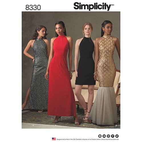 Simplicity 8330 Abendkleid