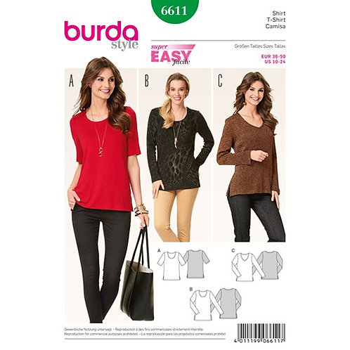 Burda 6611 Shirt