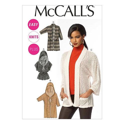 McCall`s M6802 Jacke/Mantel oder Weste