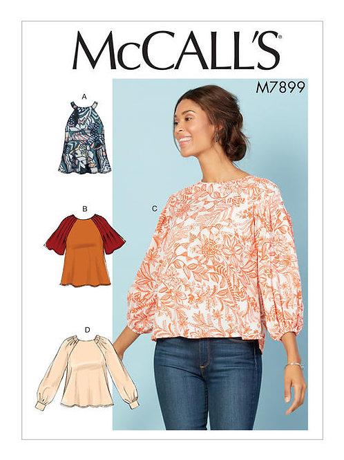 McCall's 7899 sportliche Bluse
