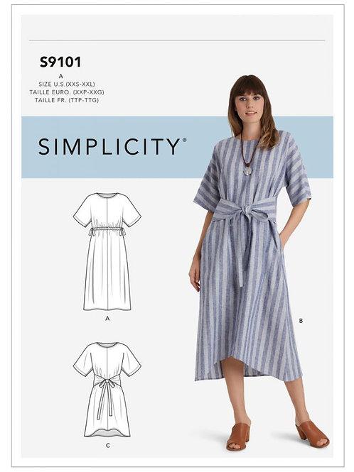 Simplicity 9101 Kleid