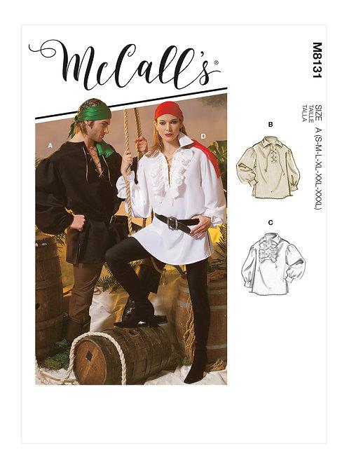 McCall's8131 Piratenhemd für Sie & Ihn