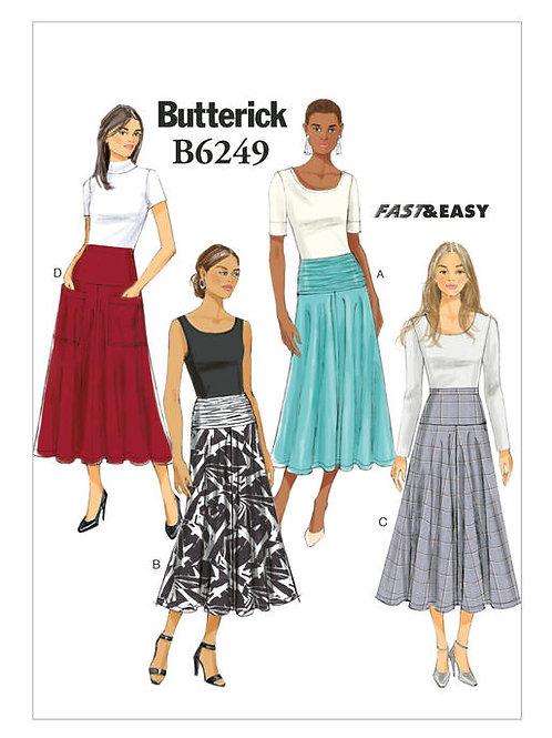 Butterick B6249 A - Linien Rock