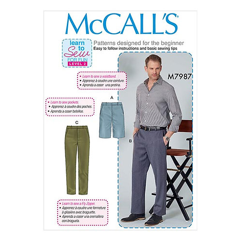McCall`s M7987 Herrenhose