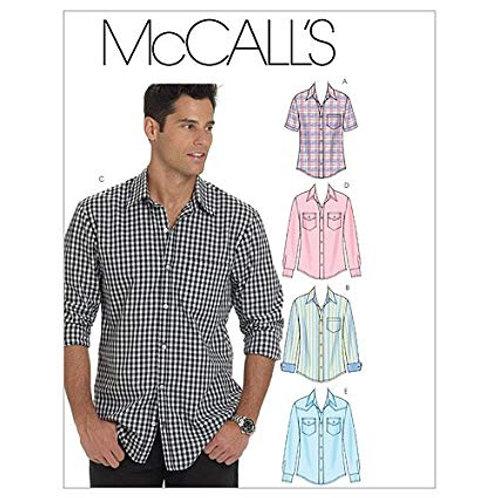 McCall`s M6044 Herren-Hemd