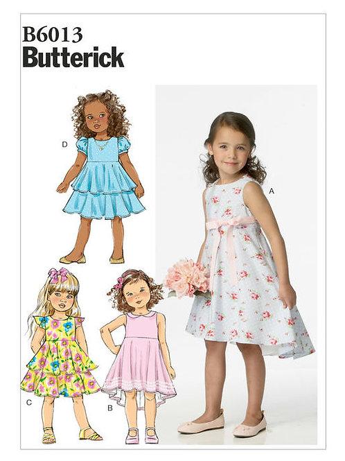 Butterick B6013 festliches Kleid