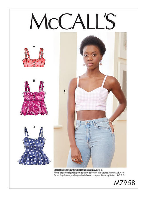 McCall's 7958 sommerliches Bustier