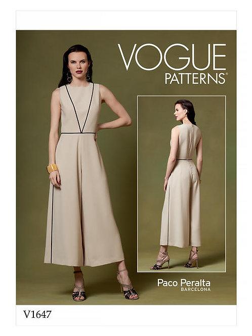 Vogue V1647 modischer Overall by Paco Peralta