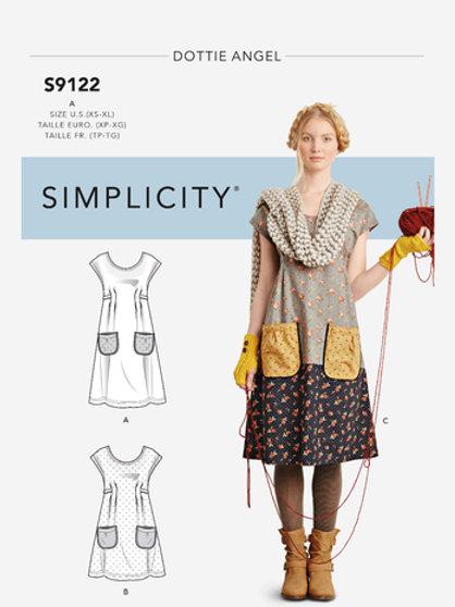 Simplicity 9122 Kleid für Freizeit