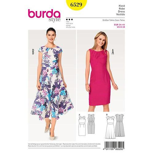 Burda 6529 elegantes Kleid