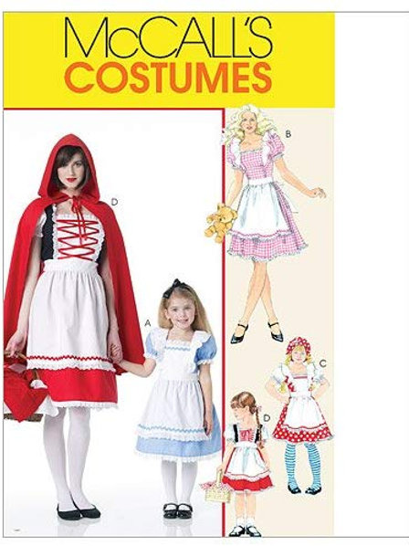 McCall`s M6187 Kinder-Fasching