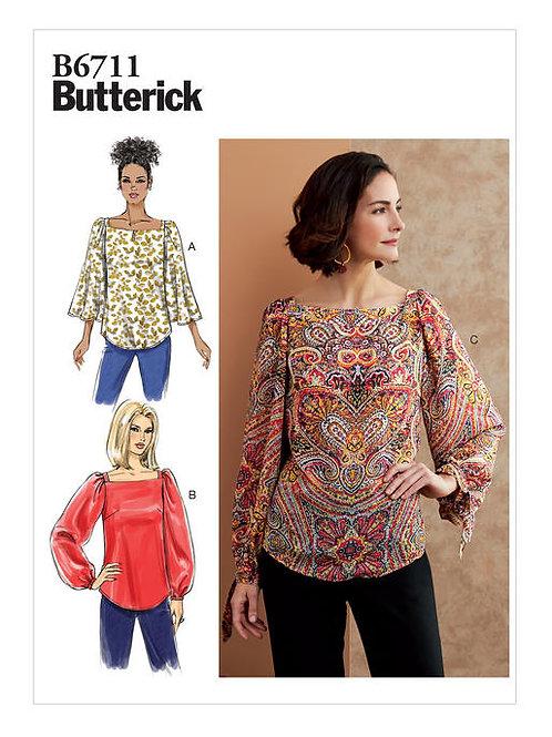 Butterick B6711 lockere Bluse
