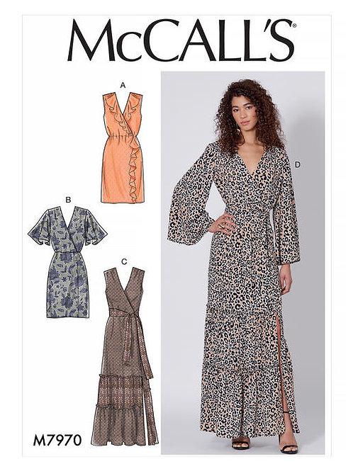 McCall's 7970 Kleid mit Volant und Längenvarianten