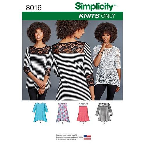 Simplicity 8016 Shirts