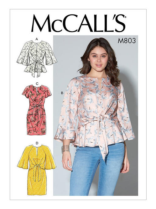 McCall's 7803 Kleid & Bluse