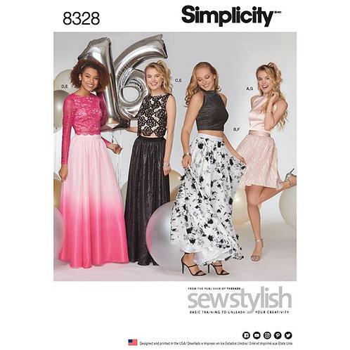 Simplicity 8328 Rock, Top, Shirt