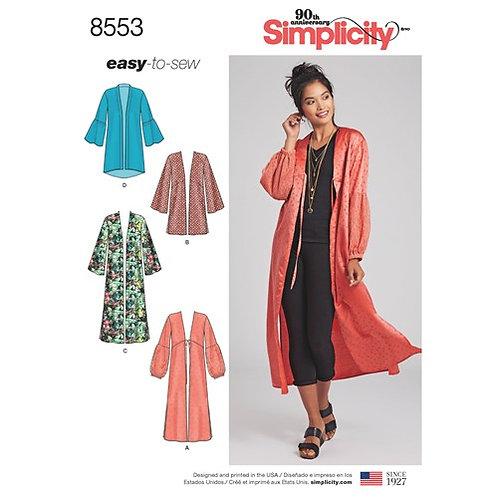 Simplicity 8553 Kimono