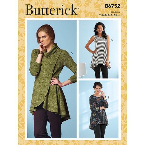 Butterick B6752 Blusenkleid