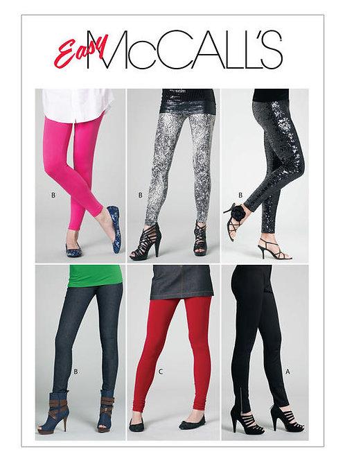 McCall's 6173 eng anliegende Hose mit Varianten