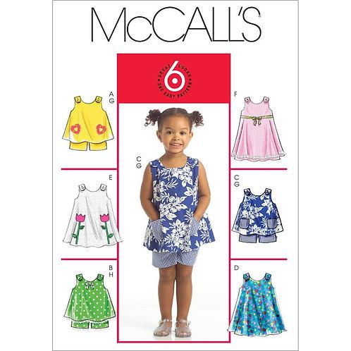 McCall`s M5416 Sommerkleidchen und Hose
