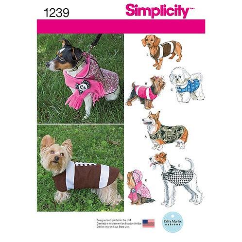 Simplicity 1239 Hundemantel