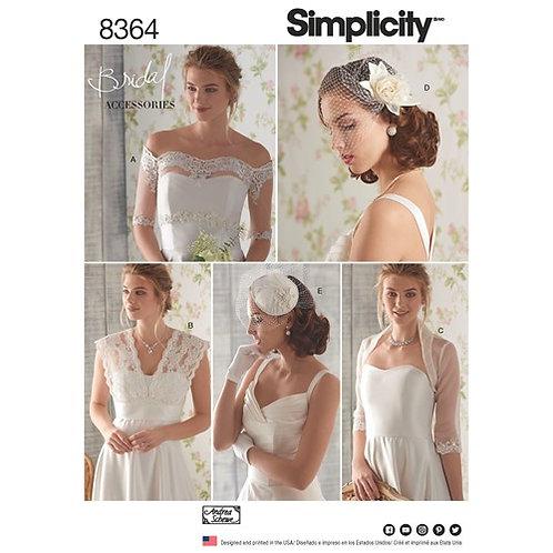 Simplicity 8364 Brautaccessories / Bolero