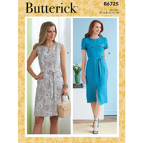 Butterick B6725 Luftiges Kleid